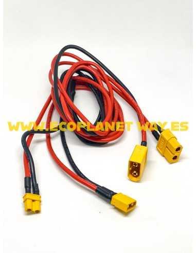 Cable alargador bateria externa