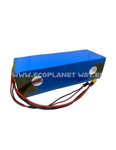 Batería litio 52V 12800mAh 10A LG 18650