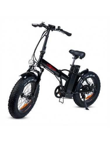 Bicicleta eléctrica con ruedas...