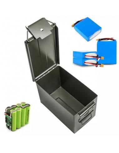 Caja militar para baterias de litio