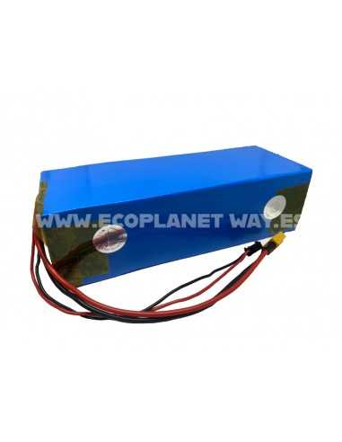 Batería litio 52V 10500mAh 10A LG 18650