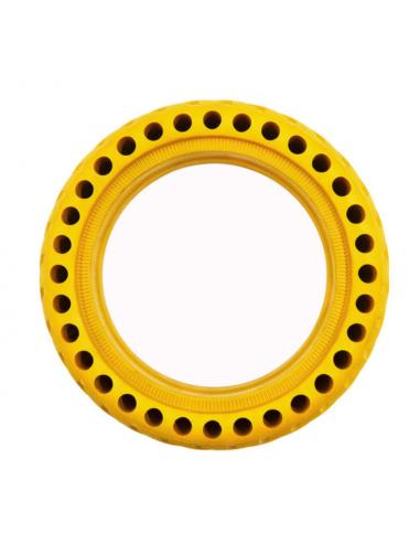 Rueda maciza amarillo Xiaomi m365-pro