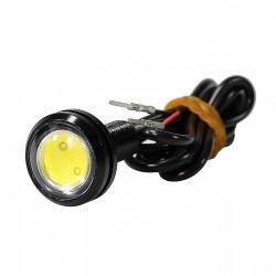 Luz LED amarilla patinete...